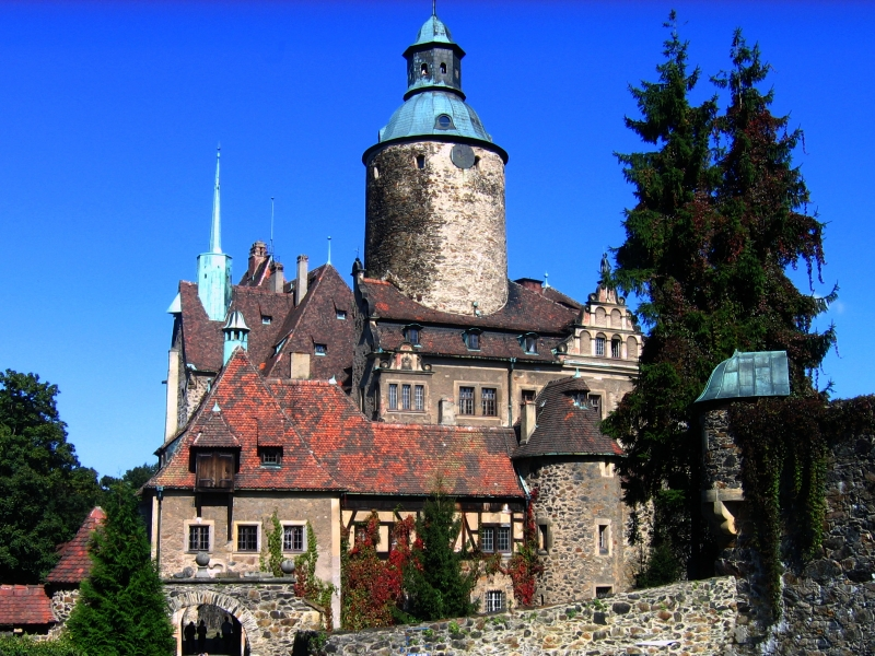 zamek Czocha - Leśna (więcej informacji: www.zamekczocha.com)