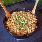 soja z warzywami