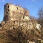 Ruiny zamku Świecie.