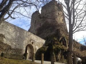 odnowione wejście-zamek w Świeciu