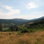 Góry Izerskie - widok na Świeradów