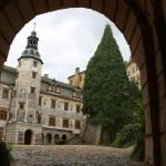 Zamek Frydlant - wejście, zwiedzanie.